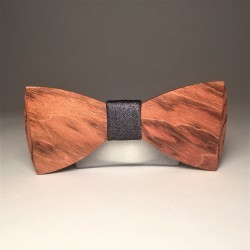 Wooden bow tie ORIGINAL MULTISHINE UNIQUE