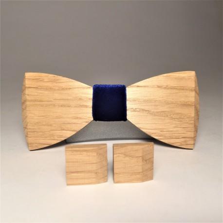 Wooden set NAVY VELOURS