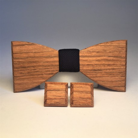 Drewniany komplet DEEP NAVY