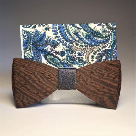 Drewniany komplet MULTI BLUE