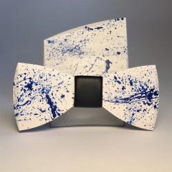Wooden set BLUE SPLASH