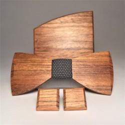 Drewniany komplet ELEGANT GREY
