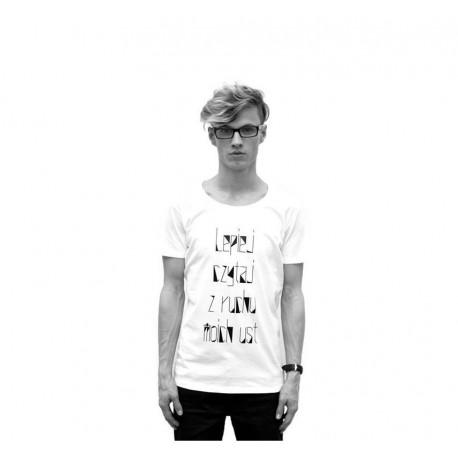 T-shirt LEPIEJ CZYTAJ