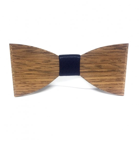 Wooden bow tie WEDDING TIME