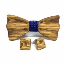 Drewniany zestaw ręcznie rzeźbiony