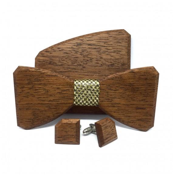 Drewniany zestaw