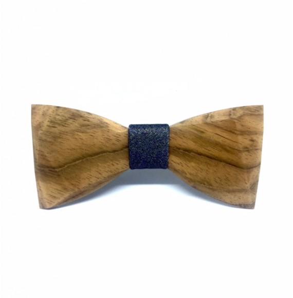 Wooden bow tie BLACK DIAMOND UNIQUE