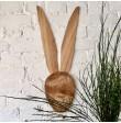 Wielkanocna dekoracja wisząca - głowa zająca