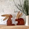 Wooden Easter Bunnies