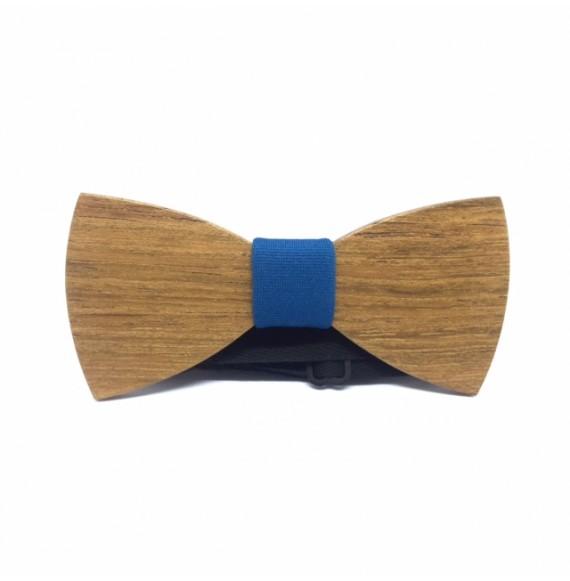 Drewniana muszka SIMPLY J.BLUE