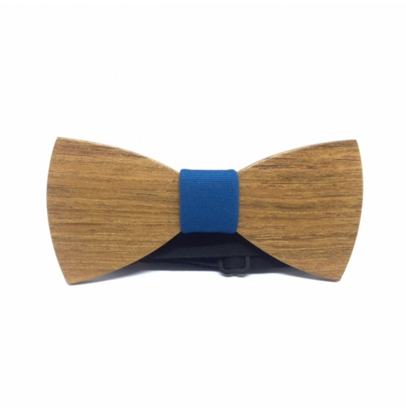 Wooden bow tie SIMPLY J.BLUE