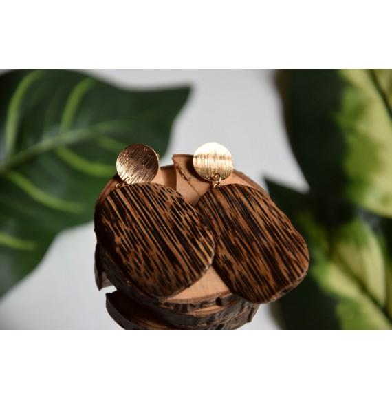 Egzotyczne kolczyki wiszące