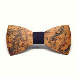 Peter's wooden bow tie