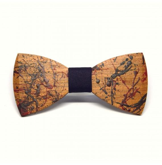 Peter's wooden bow tie