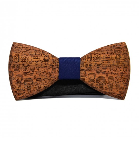 Wooden bow tie RUSTIC