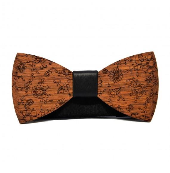 Wooden bow tie RUSTIC III