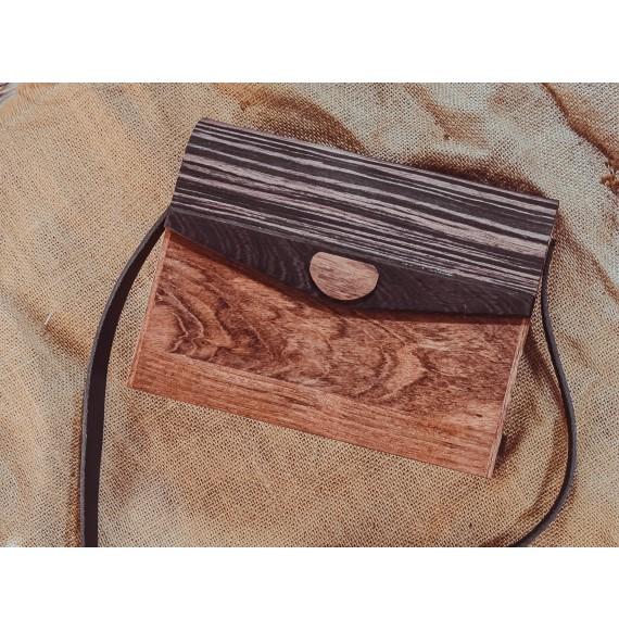 Wooden bag FELICIA
