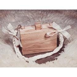 Drewniana torebka COTTON OAKY