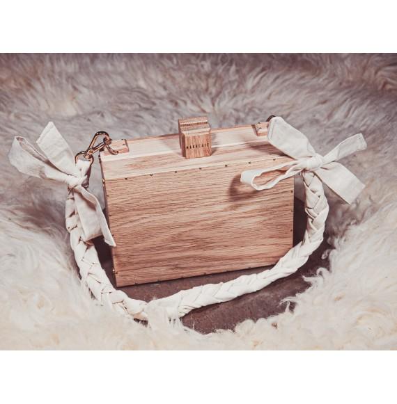 Drewniana torebka OAKY