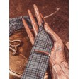 Wooden tie clip