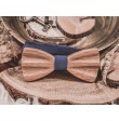 Wooden bow tie 3d