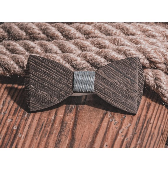 Wooden bow tie DERBY