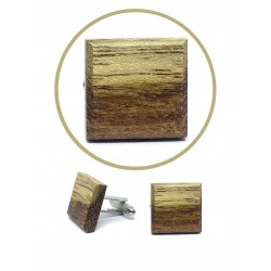 Wooden cuff links DUO UNIQUE