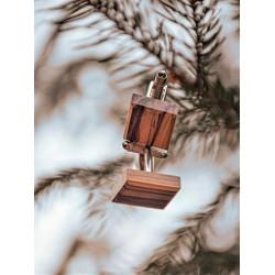 Wooden cufflinks ZEBRANO