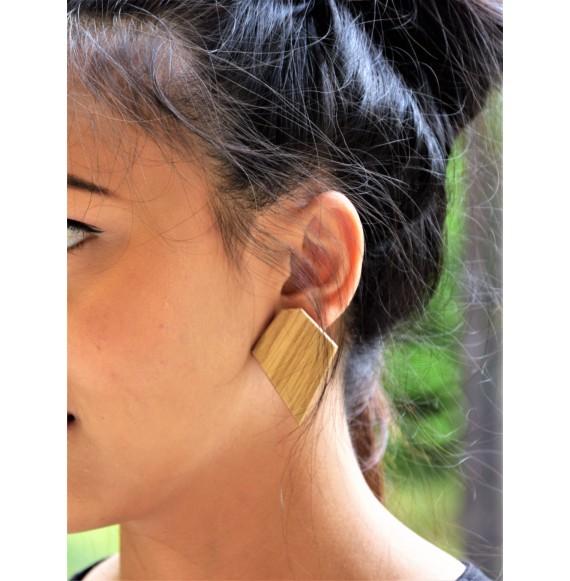 Oak geometric earrings BOHO