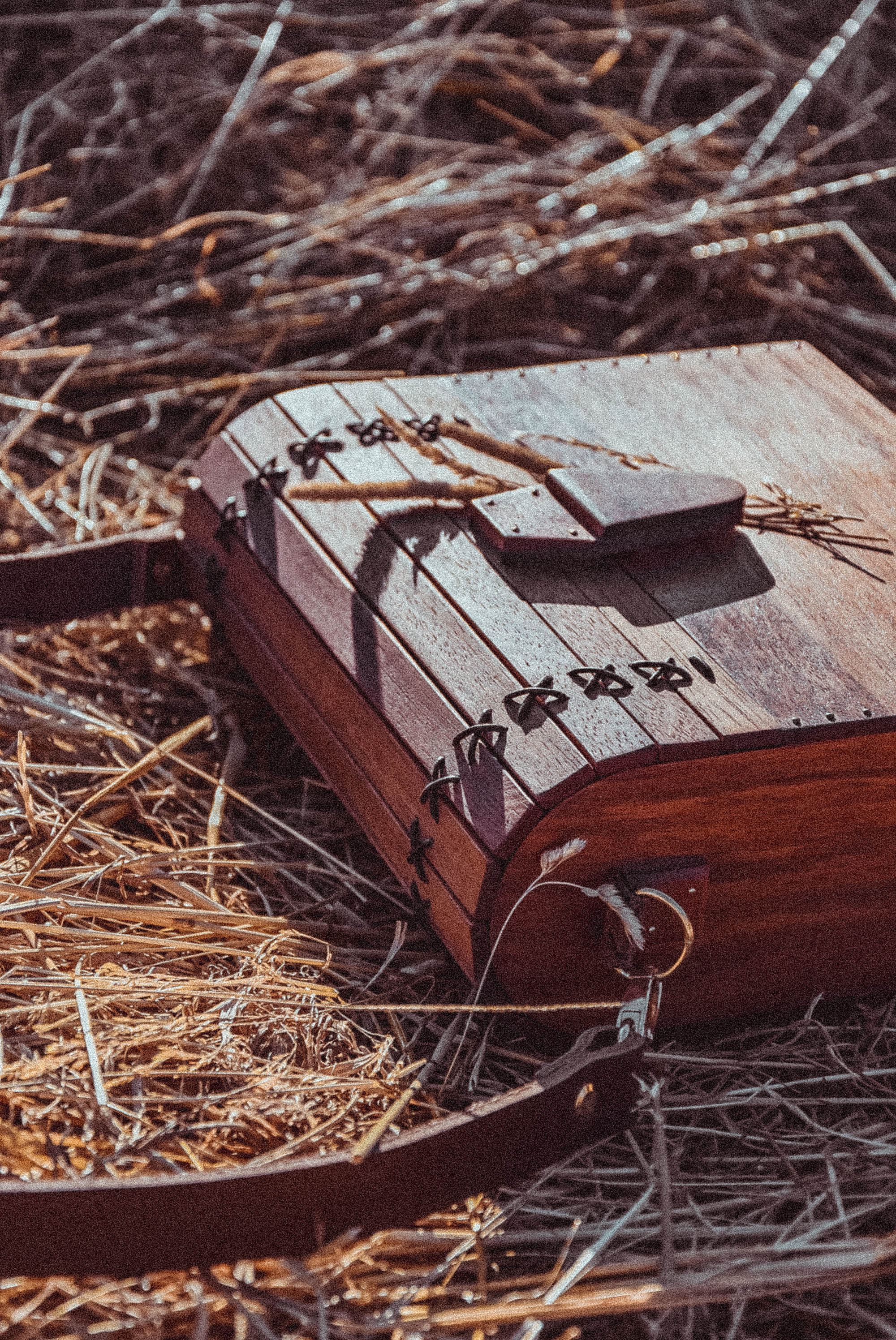 Wooden handbag MARACHIC
